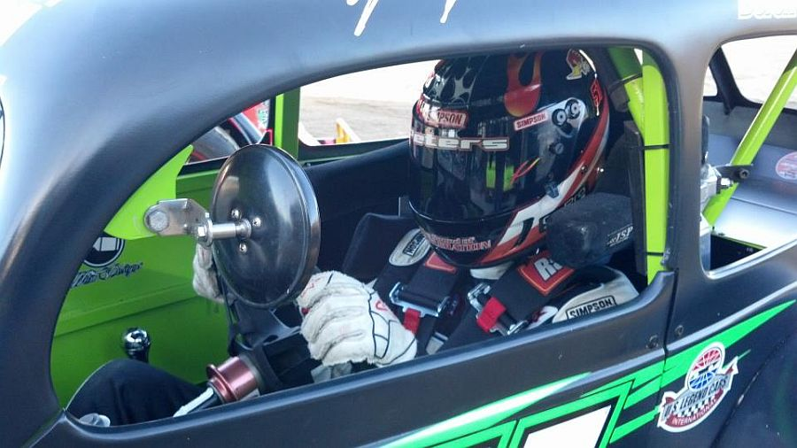 John Peters Peters Scores First Career Legends Win At